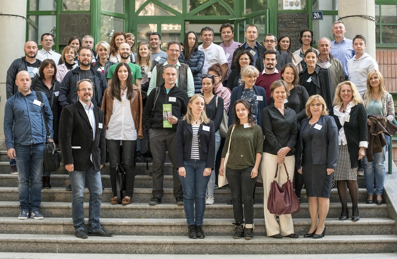 Kick off event, projektni tim i saradnici, Novi Sad
